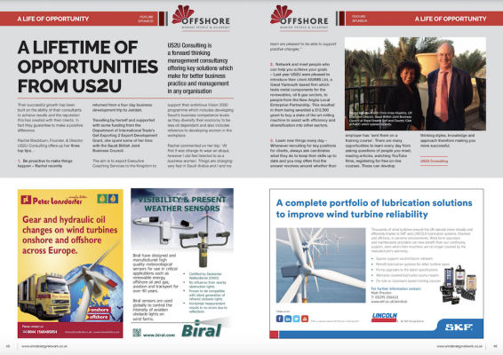 A Lifetime of Opportunities from US2U in Wind Energy Network Magazine