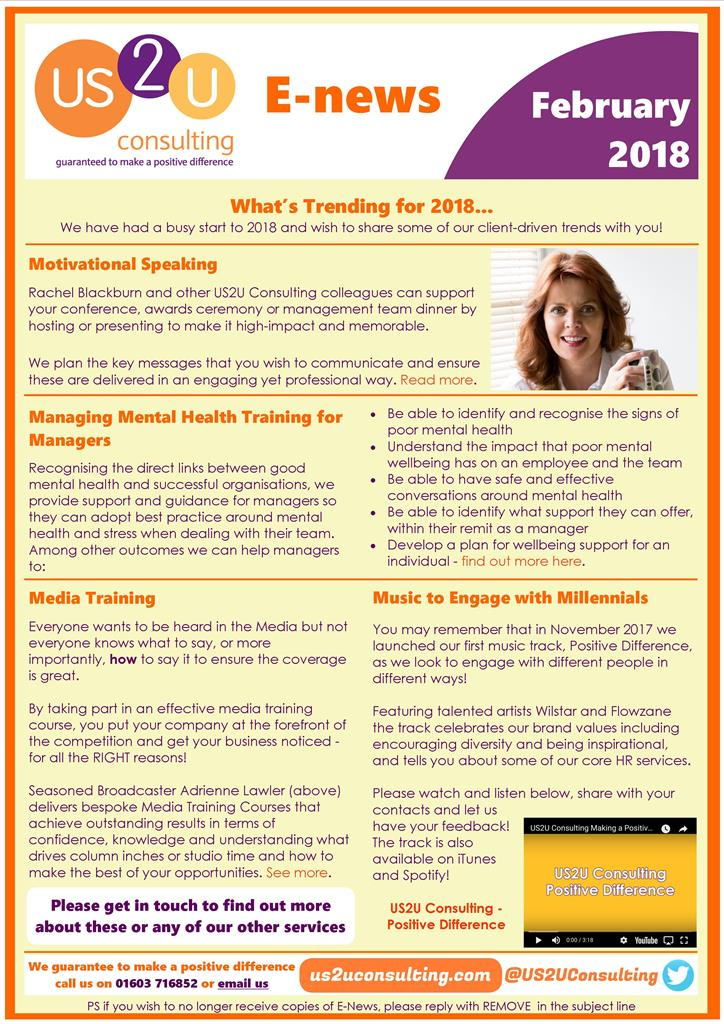 E News February 2018 What S Trending For 2018 Management